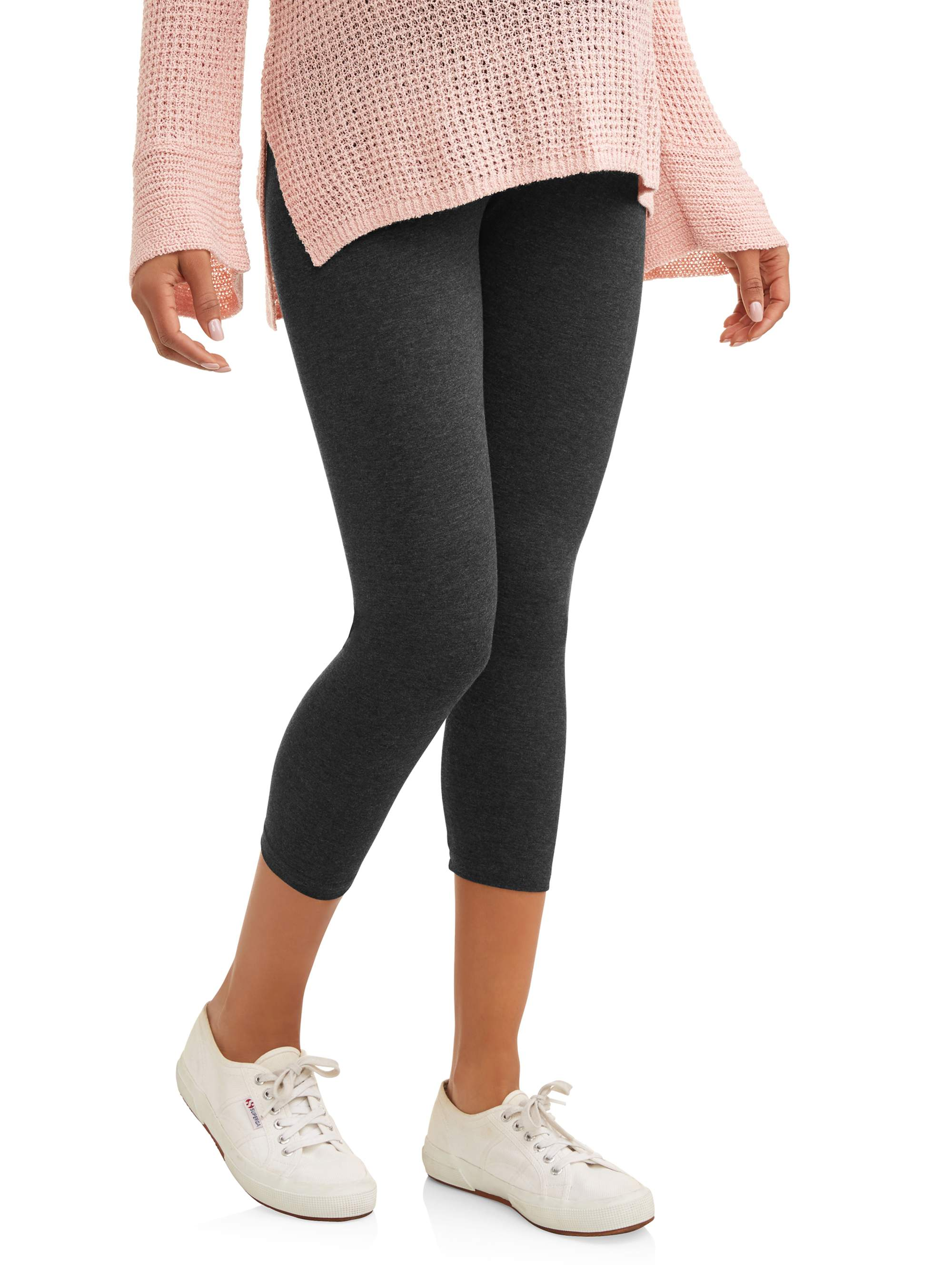666420ef4d13b Oh! Mamma - Oh! Mamma Maternity Full Panel Capri Leggings - Available in  Plus Sizes - Walmart.com