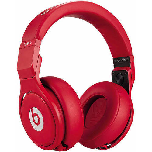 Beats by Dr. Dre Pro Over-Ear Headphones, Red by Beats by Dr. Dre