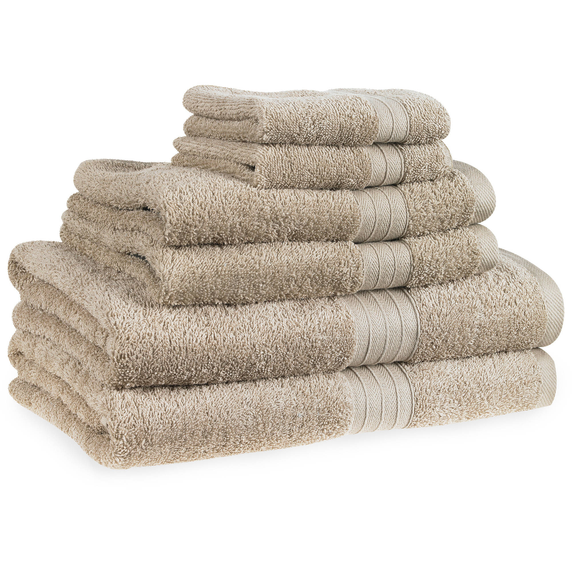 Forever Color Cotton Bleach-Safe 6-Piece Towel Set