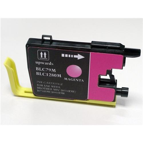 Insten 2 Packs Magenta Ink Cartridge Compatible for Brother LC79 M
