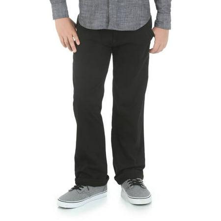 6bbb64769 Wrangler Jeans Co - Wrangler Jeans Co Slim Boys Chino Pants - Walmart.com