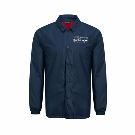 Red Bull Racing F1 Men's Coach Jacket (Drag Racing Jackets For Men)