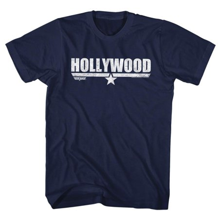 Navy Mens Lacrosse Arch (American Classics Top Gun HOLLYWOOD Navy Adult Unisex T-Shirt)