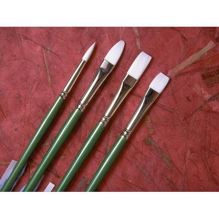Princeton  6100 Synthetic Bristle Oil & Acrylic Brushes Princeton Synthetic Acrylic Brushes