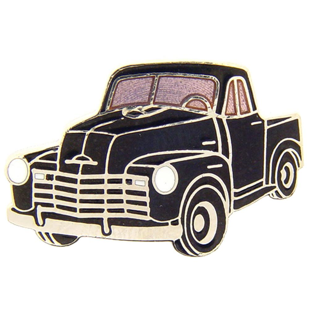 Chevrolet Truck 1947-1952 Pin Black 1""