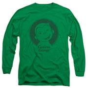 Curious George - Classic Wink - Long Sleeve Shirt - Medium