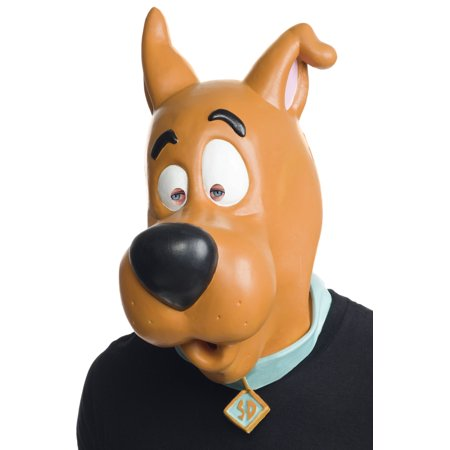 Scooby Doo Overhead Latex Adult Mask - Scooby Doo Costume Adult