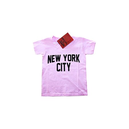 Nyc Factory New York City Toddler T Shirt Screenprinted Pink Baby