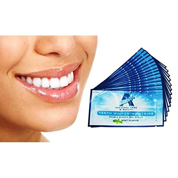 Sparkling White Professional Strength 6 Hp Teeth Whitening Strips Elastic Strips Plus Advanced Whitening Formula Great Results 28 Strips 14 Upper And 14 Lower Walmart Com Walmart Com