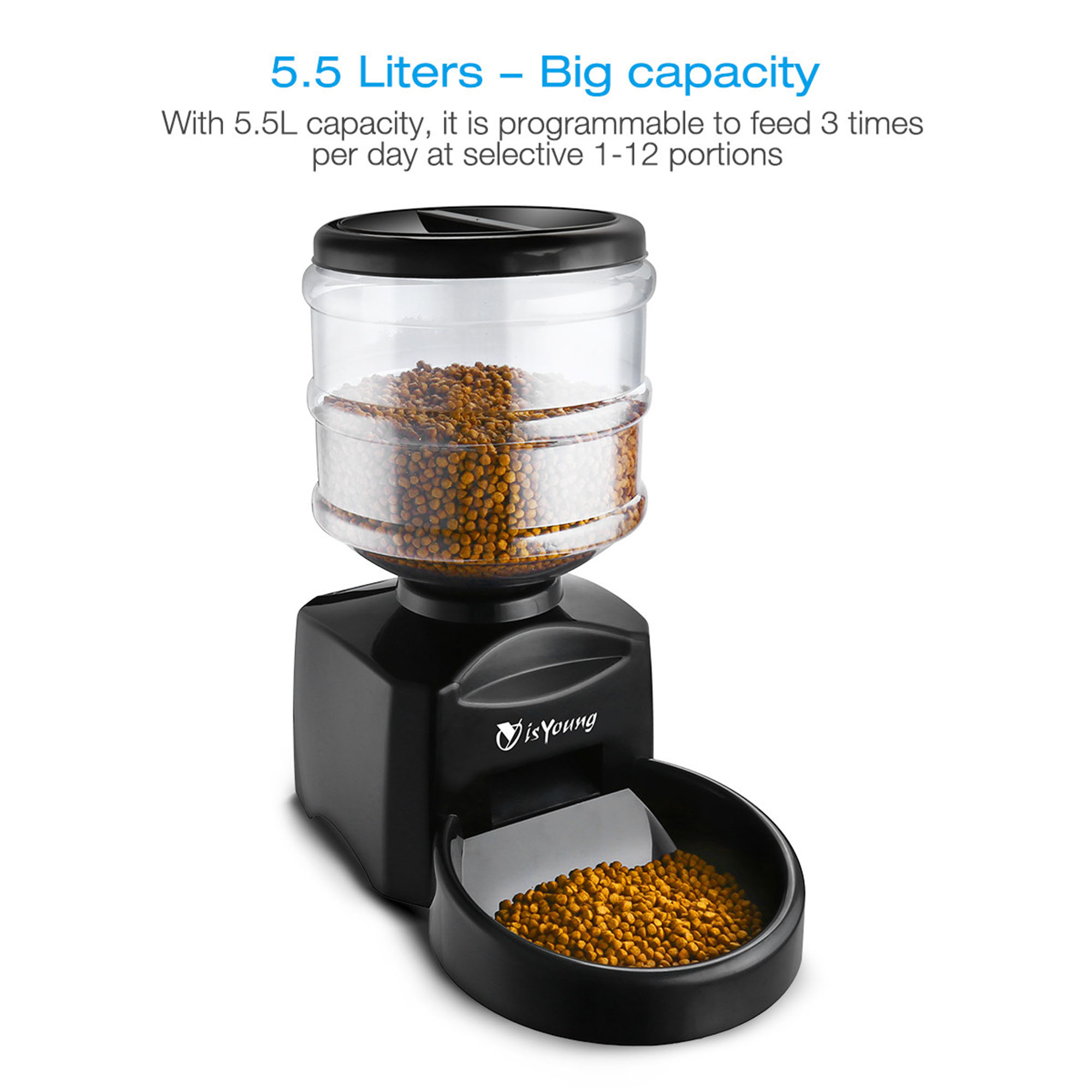projects pet dog make automatic feeder large