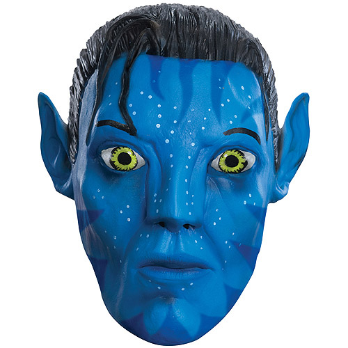 Avatar Jake Adult Halloween Latex Mask