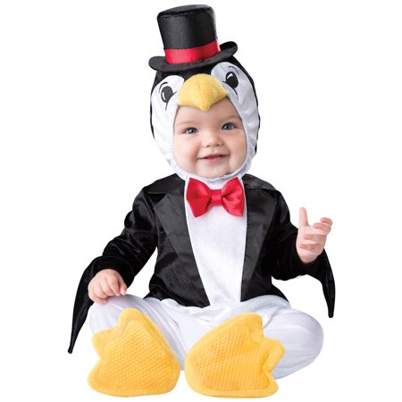 Infant Playful Penguin Halloween Costume (Halloween Costumes For Infants 3 6 Months)