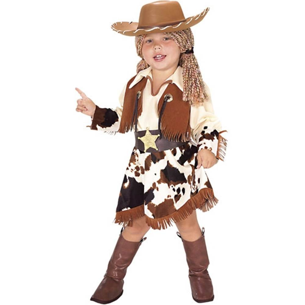 Yarn Cowgirl Toddler Costume