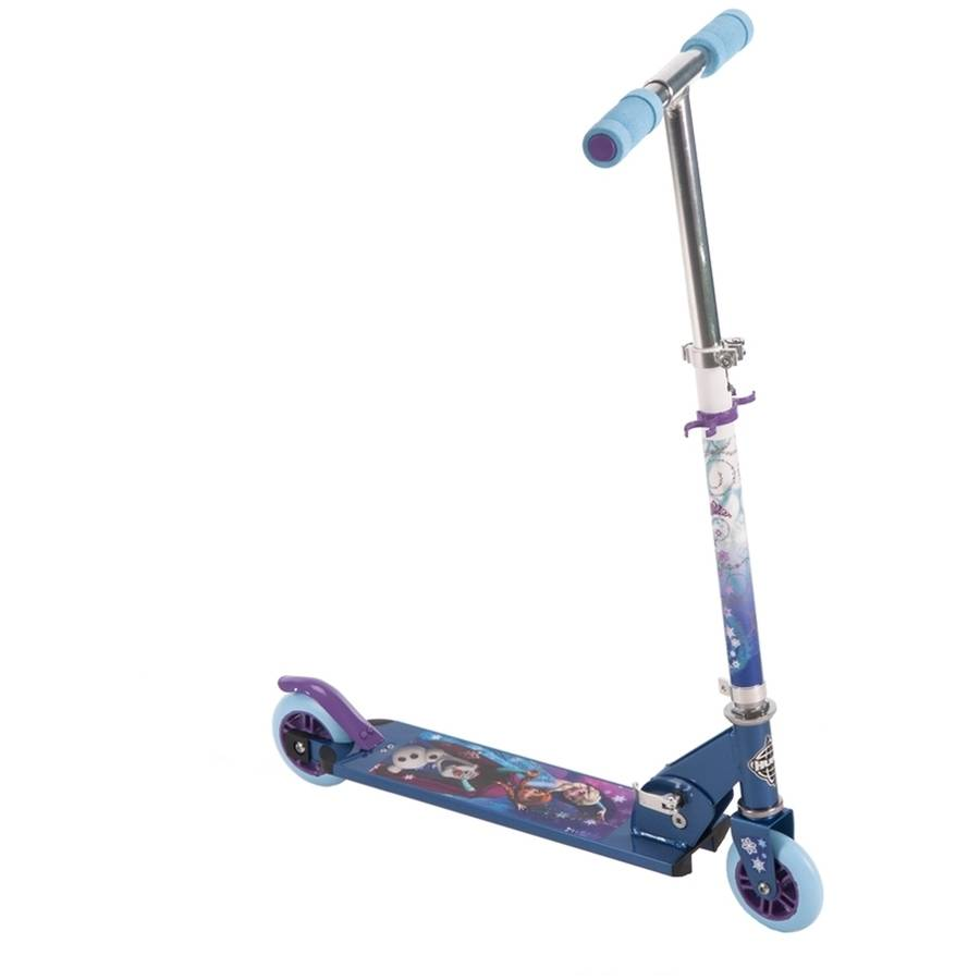 Disney Frozen 2-Wheel Inline Girls Scooter by Huffy