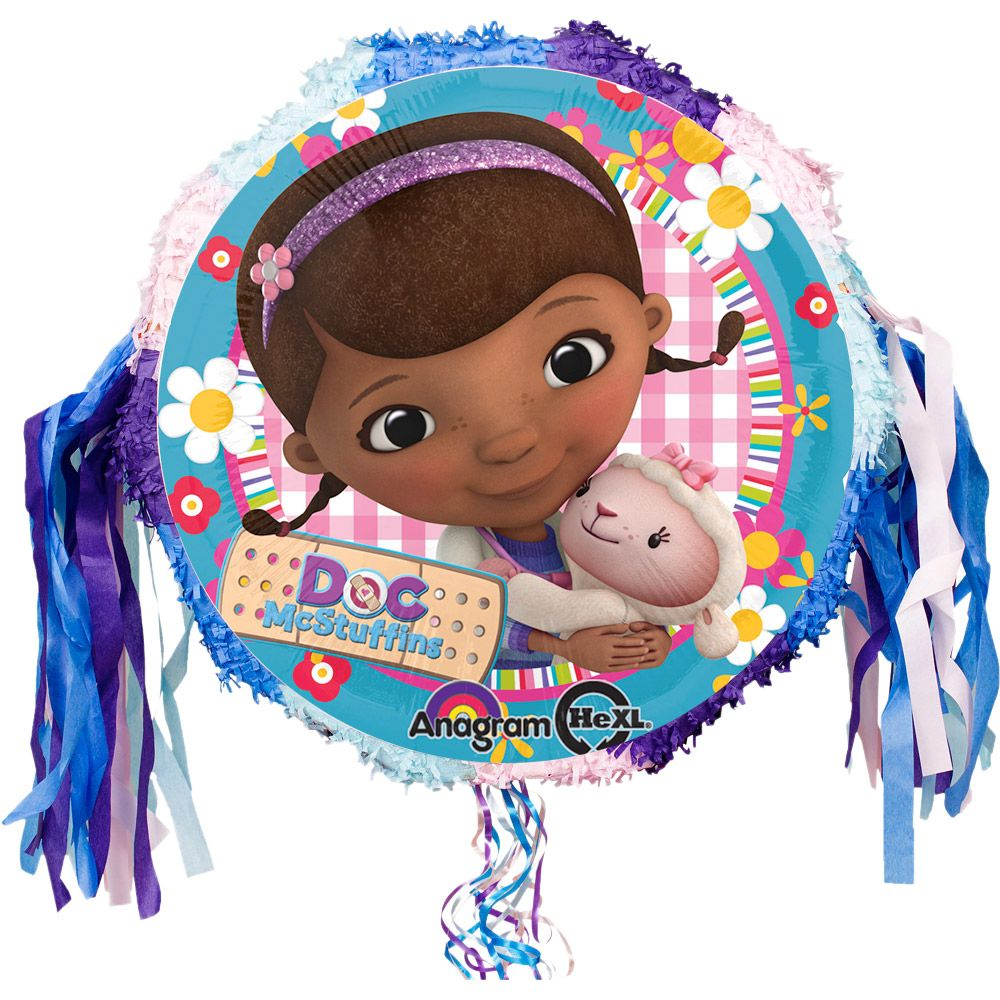 Doc McStuffins Pinata (Each) - Party Supplies