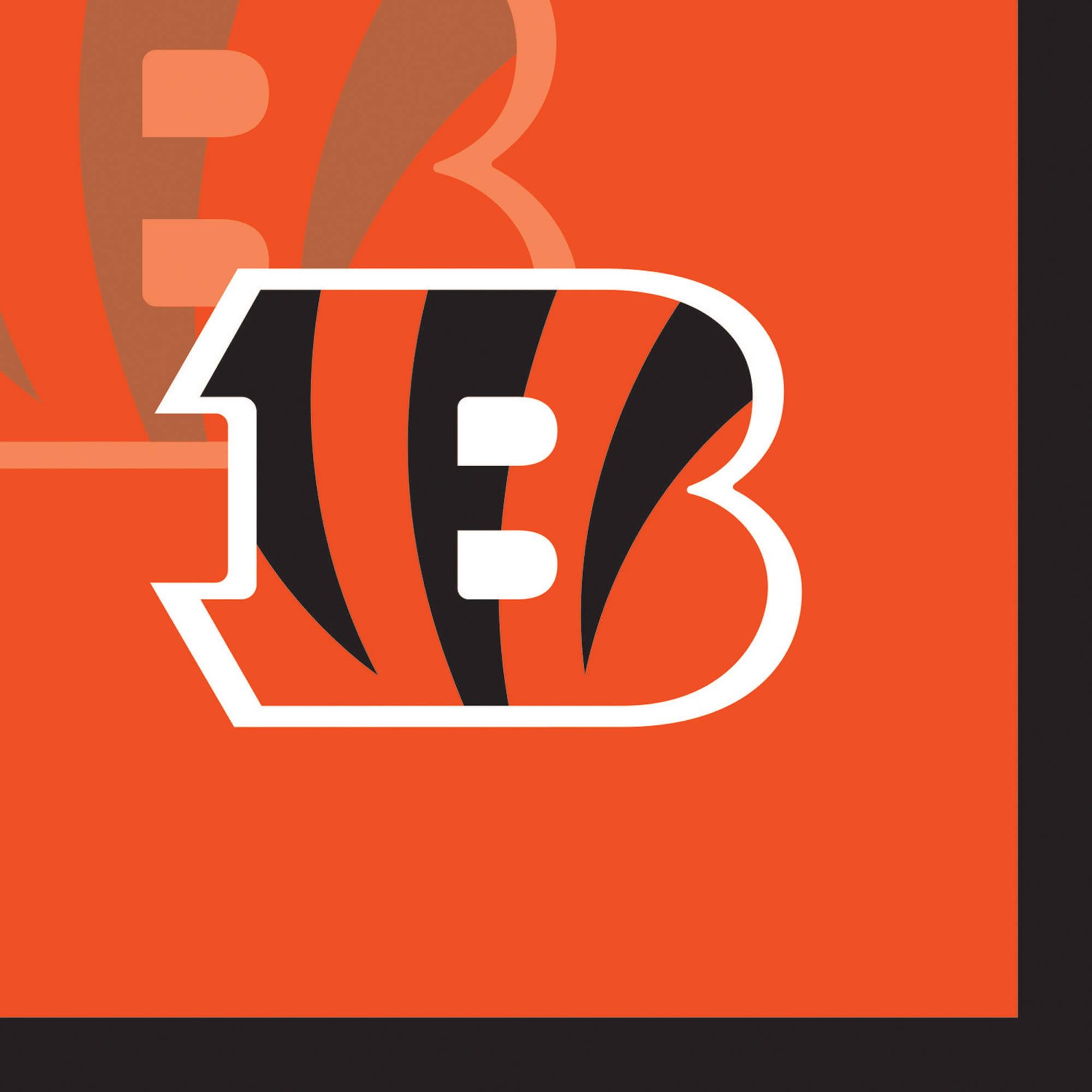 Cincinnati Bengals Beverage Napkins, 16-Pack