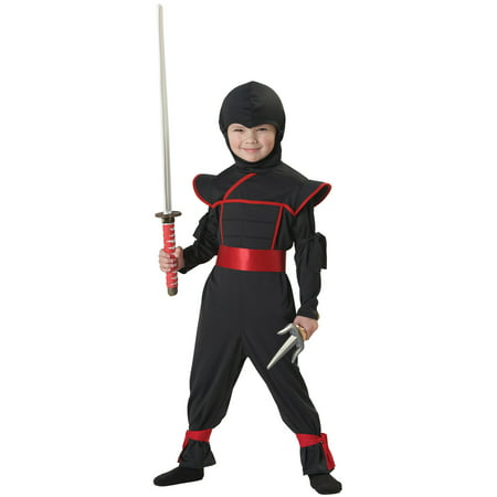 Stealth Ninja Toddler Halloween Costume, (Toddler Costumes)