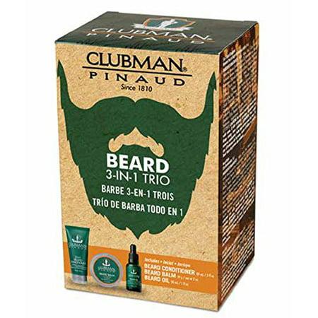 CLUBMAN Beard Grooming Trio - Best of Clubman - GREAT GIFT
