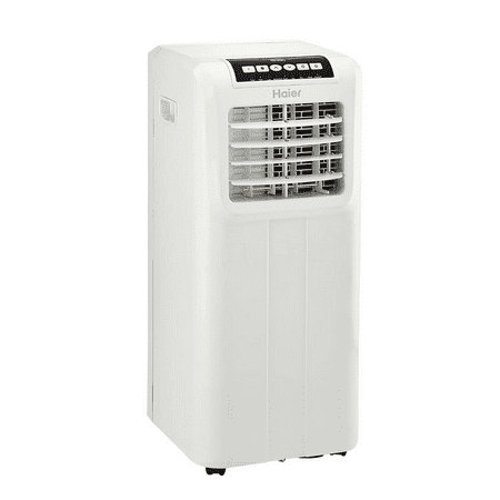 Haier 9,000 BTU 115-Volt Portable Air Conditioner with Remote, Factory