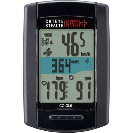 CatEye Stealth EVO Plus GPS Cycling Computer CC-GL51: