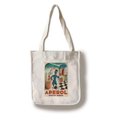 Italy - Aperol - (artist: Piquillo c. 1931) - Vintage Advertisement (100% Cotton Tote Bag - Reusable)