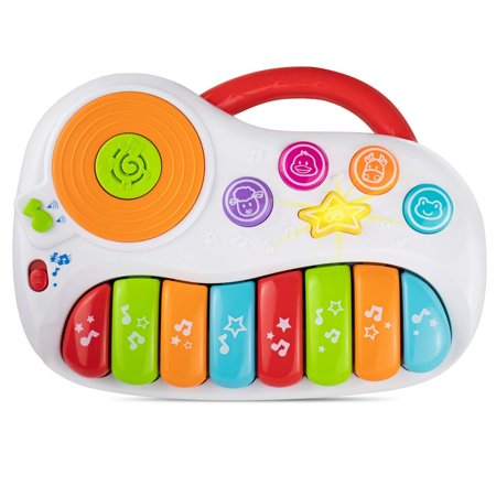 KiddoLab Toddler Piano Learning Toy DJ Mixer. Colorful Kids Musical Instruments Educational Development Toy. Electronic Play Piano Musical Toy. Kids Keyboard Piano Music Toys 12 Months+ ()