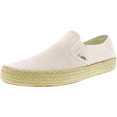 4e254c74ab8d8b Vans - Vans Women s Slip-On Esp Mesh Marshmallow Ankle-High Fashion Sneaker  - 9M - Walmart.com