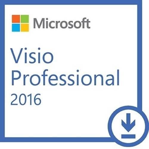 Microsoft Visio Professional 2016 PC ESD (Digital Code) by Microsoft