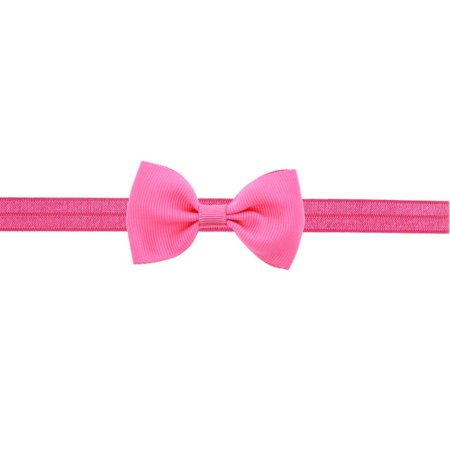 OkrayDirect Baby Kids Girls Mini Bowknot Hairband Elastic Headband - Costumes For Blue Hair