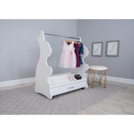 Ace Baby Furniture Rabbit Mobile Dress-Up Clothes & Shoes Organizer