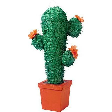 CACTUS PINATA WITH PULL STRING KIT (Cactus Pinata)