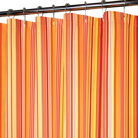 Park B Smith Mini Strings Stripe Watershed Shower Curtain