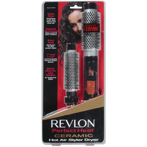 Revlon Perfect Heat 300W Hot Air Styler and Dryer with Ceramic