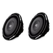"2) NEW MTX FPR10-02 10"" 600W Slim Truck Subs Shallow Power Car Audio Subwoofers"