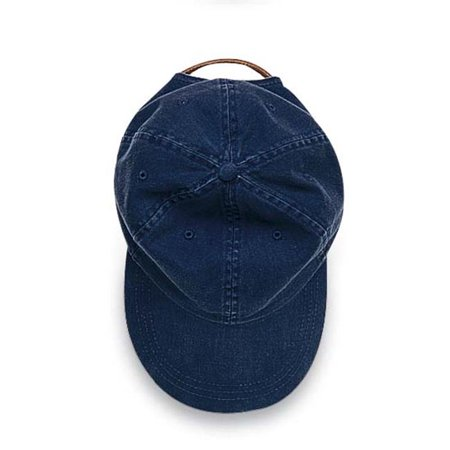 EP101 Essentials Pigment Dyed Cap Six Panel Low Profile, Navy - image 1 of 1