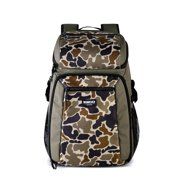 Igloo Gizmo Durable & Adjustable Insulated 30 Can Cooler Backpack, Camouflage
