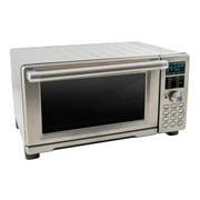 NuWave Bravo Stainless Steel Kitchen Countertop Dual Air Fryer Toaster Oven
