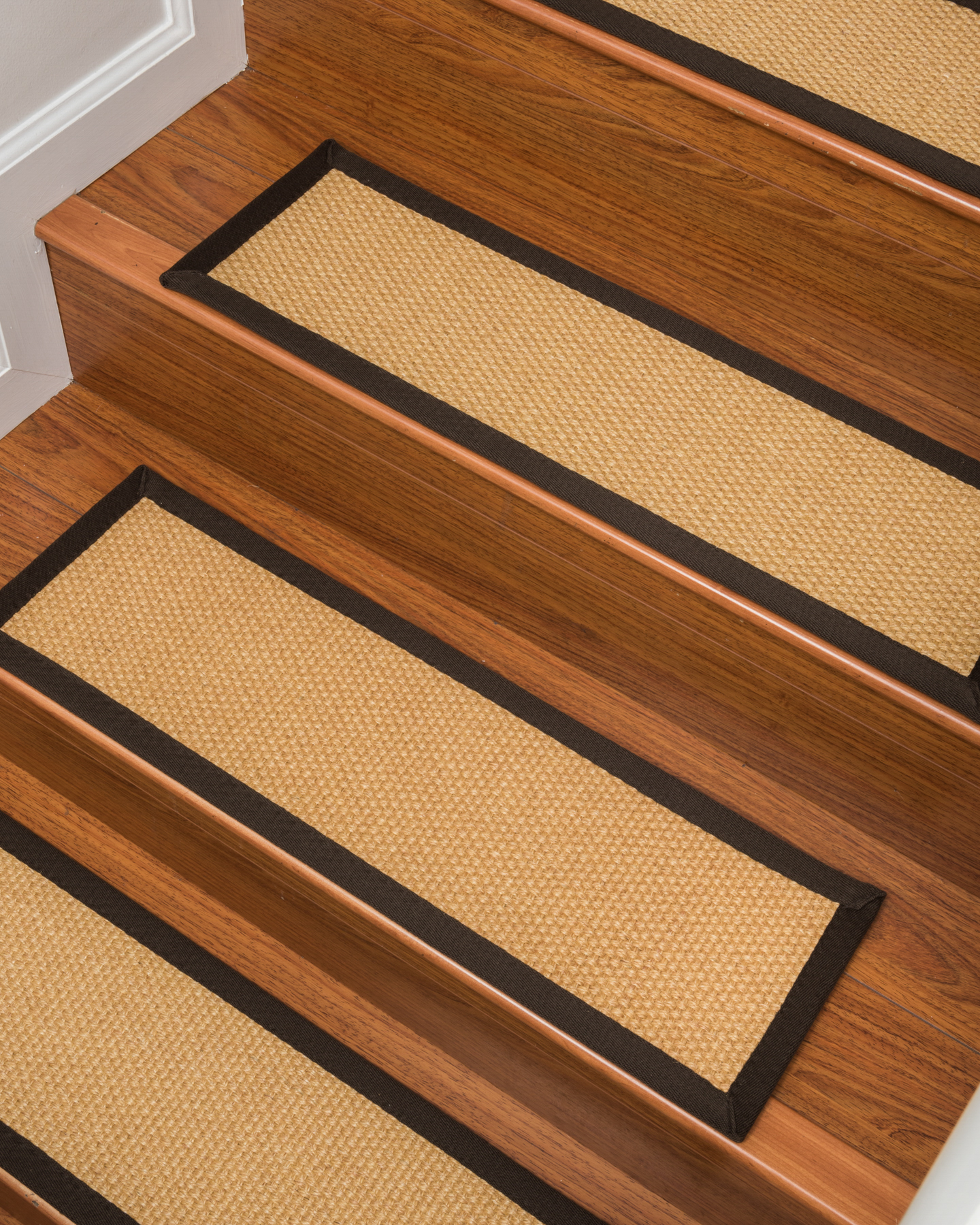 Charmant Natural Area Rugs 100% Natural Fiber Lowell, Sisal Tan, Handmade Stair  Treads Carpet