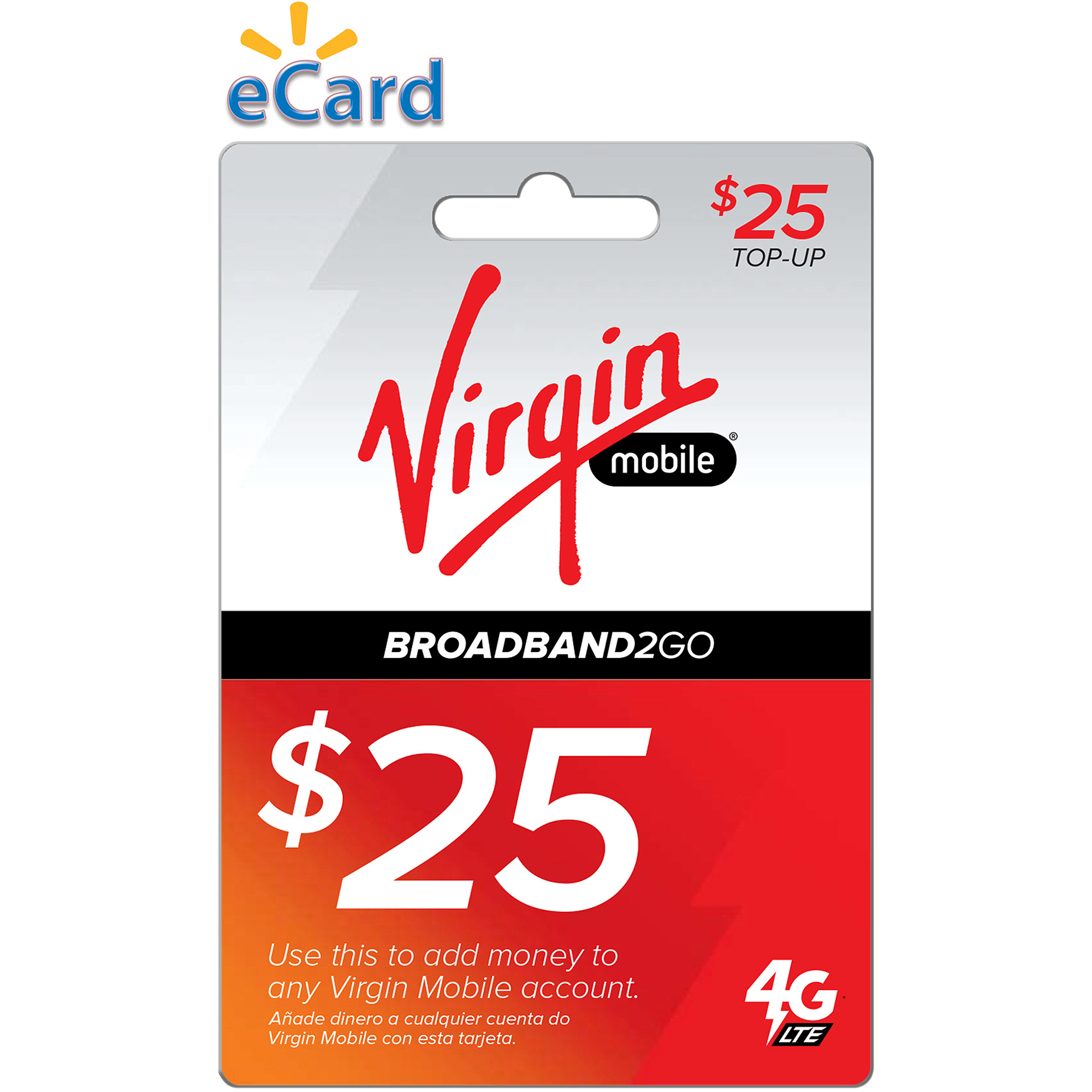 Virgin Mobile BB2GO $25 (Email Delivery)