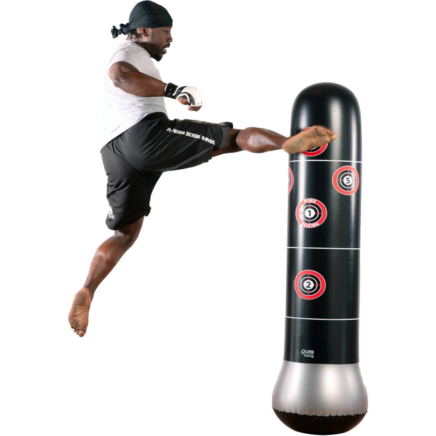 Pure Boxing MMA Inflatable Target Bag