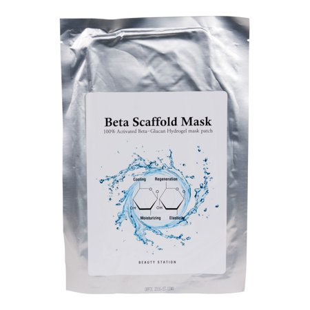 Beta Scaffold Mask 100  Activated Beta Glucan Hydrogel Mask Patch