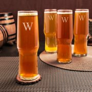 Cathys Concepts Personalized Craft Beer Pilsners - Set of 4