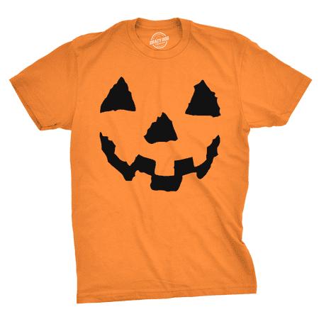 Halloween T Shirts Funny (Pumpkin Face T-Shirt Funny Halloween Jack O Lantern)