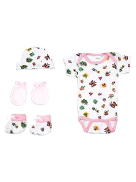 0cee1a9bcc02 Baby Girls Newborn Essentials - Walmart.com