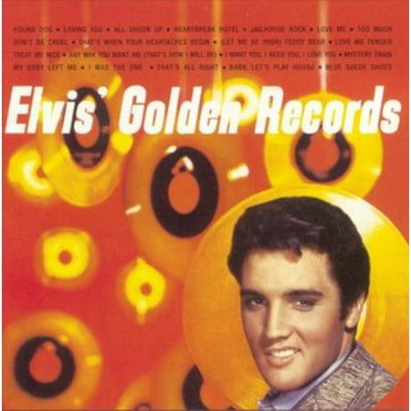 Elvis' Golden Records (CD) - Custom 45 Records