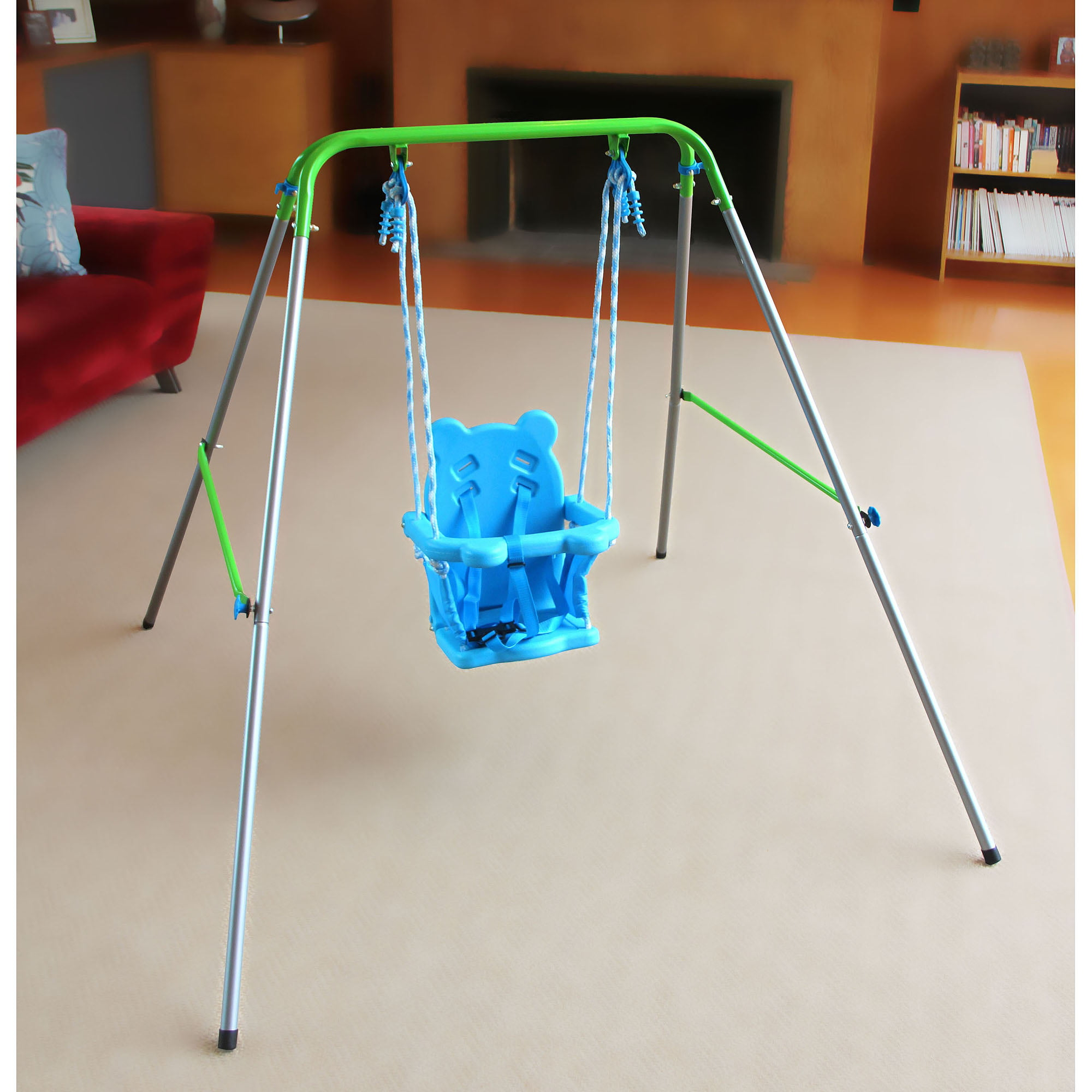 Sportspower Indooroutdoor My First Toddler Swing Walmartcom