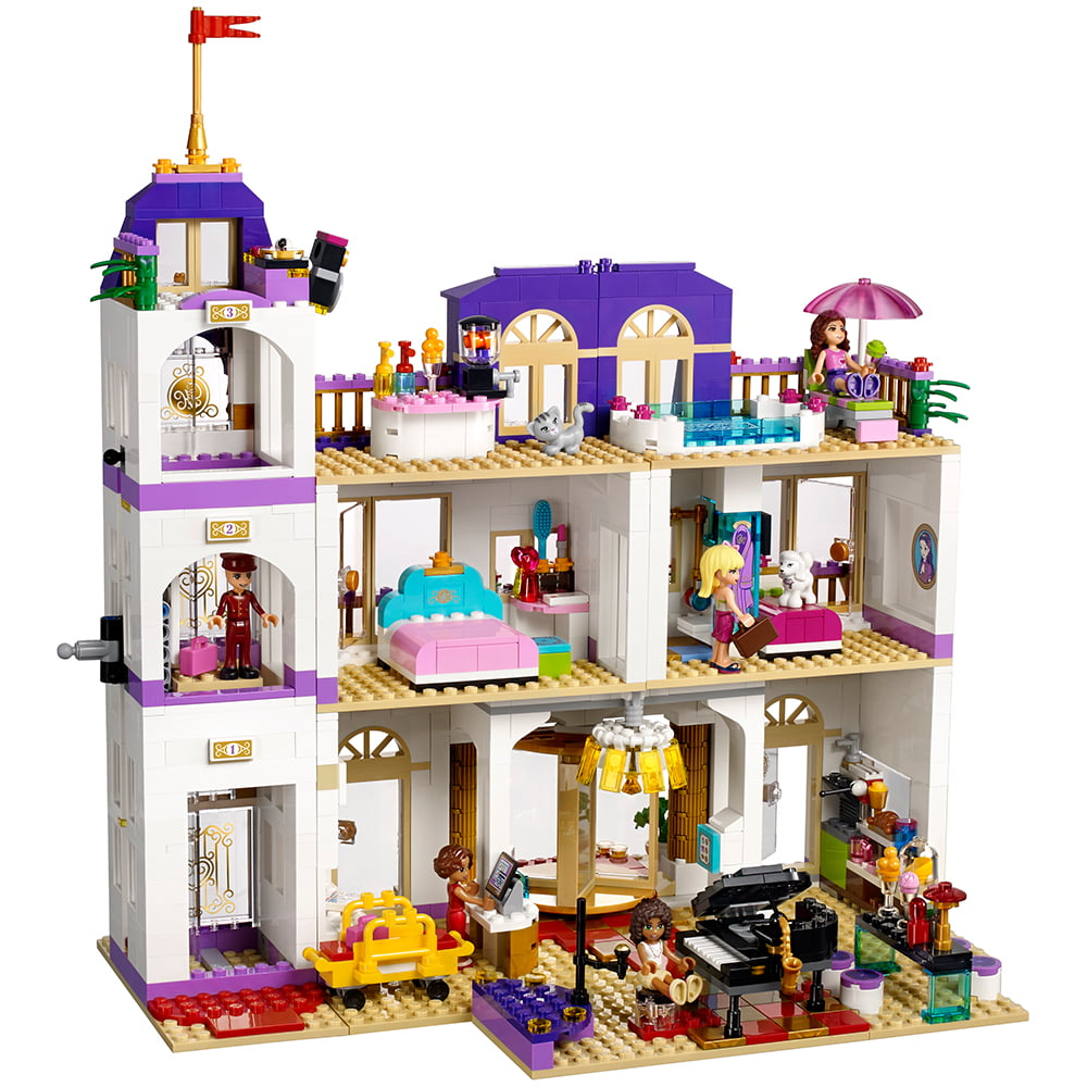 Lego Lego Friends Heartlake Grand Hotel 41101 Walmartcom