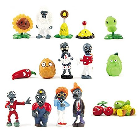 Oliasports 16 X Plants vs Zombies Toys Series Game Role Figure Display Toy PVC Gargantuar Craze Dave Dr. Zomboss Action Figure](Zombie Toys For Boys)