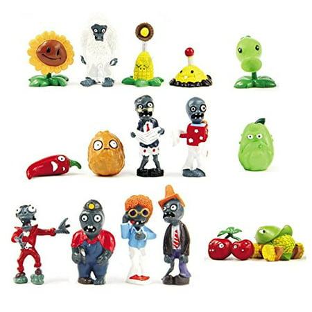 Oliasports 16 X Plants vs Zombies Toys Series Game Role Figure Display Toy PVC Gargantuar Craze Dave Dr. Zomboss Action - Pvc Figures Toy
