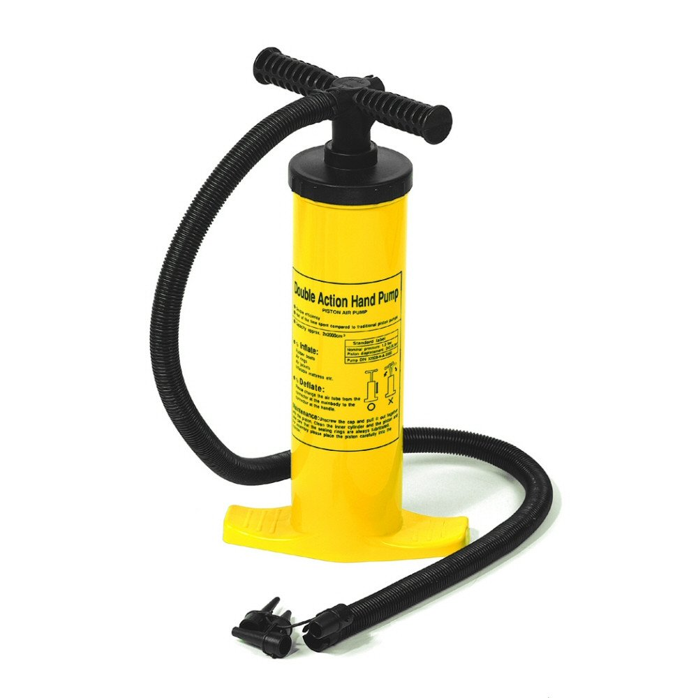 Swimline 9096 Dual Action Hand Operated Air Pump by